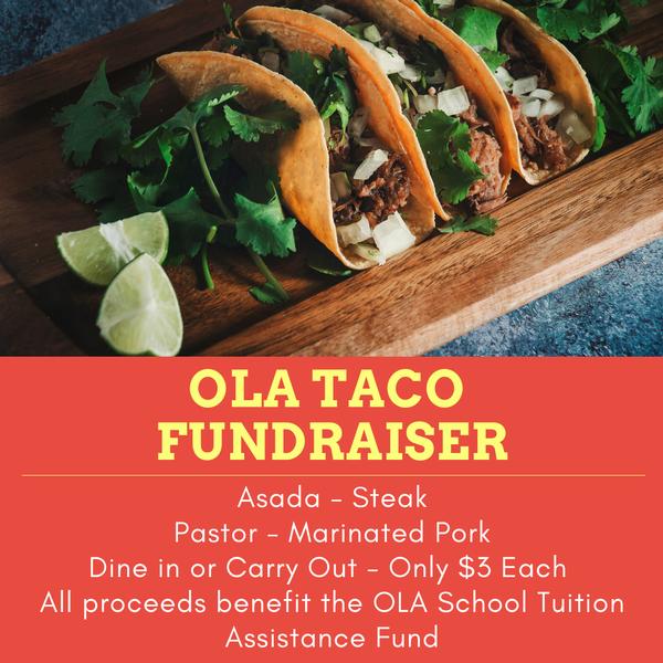 Taco Fundraiser